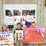 Washington Elementary poster contest winners