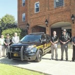 Sheriff shows new cruiser