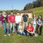 South Gallia competes in soil judging