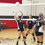 Leach named all-state in volleyball