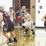 Lady Vikings surge past River Valley, 53-26