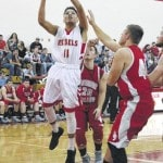 Rebels roll past Symmes Valley, 66-45