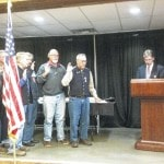 Cadot-Blessing Camp 126 installs officers