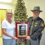 Sheriff's Office receives traffic safety award