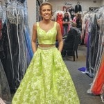 Brittany's prepares for prom show