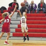 Lady Knights fall to Hurricane, 73-30
