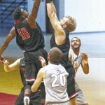 Late rally falls short for RedStorm men