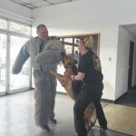 K-9s practice taking 'bite' out of crime