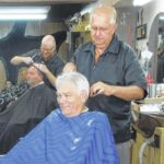 Barber, commissioner celebrates 50 years of business