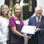 Ohlinger earns PVH Employee of the Month