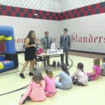 RVHS students lecture elementary students in government