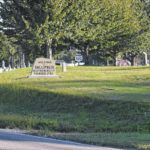 Residents outraged by 'welcome' marker in cemetery