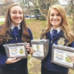 Starnes and Wood place at state FFA job contest