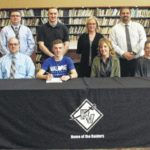 Raiders' Young to swim at Malone