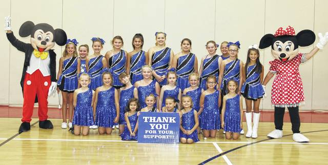 The Gallipolis Twirling Angels are headed to Disney World for competition. Pictured front row from left: Sadie Sola, Avery Moore, Kendall Eddy, and Chloe Drummond. Middle row from left: Kinsey Mitchell, Taylor Barnes, Chloe Tagg, Haylee Waller, Adrian Neel, Sophie Harris, Shyla Queen, and Aspen Barnes. Back row from left: Maggie McPherson, Kamryn Daniels, Autumn Brumfield, Jayden Shriver, Carolina Sola, Brenna Echoer, Shaley Pourbaix, Hannah Tagg, Shelby Greenlee, Hollee Castor, and Sophia Sola.