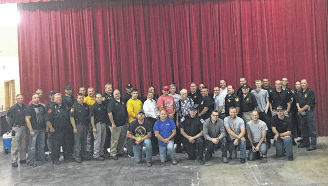 Agencies represented at training on Sept. 26 were Middleport Police Department, Meigs County Sheriff's Office, Gallia County Sheriff's Office, Syracuse Police Department, Racine Police Department, Pomeroy Police Department, Rutland Police Department, Coolville Police Department, and Ohio BCI.