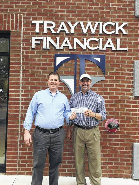 Every fall Shannon Mayes begins fundraising for the Trout Unlimited Teens program by sending out letters to the community. Traywick Financial donated $1,000 to the program for the 2017-18 school year. Mayes said he was grateful to all the sponsors who help make the program happen. If anyone would like to donate, contact Mayes at 740-645-9105.