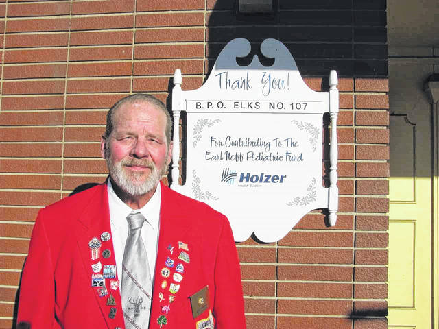 Elks Lodge #107 represented by Exalted Ruler Walt Brown.
