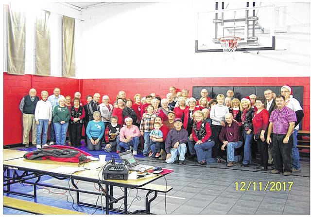56 members and former members of the Belles and Beaus Square Dance Club recently held their annual Christmas party at the Gavin Employees Club in Cheshire, Ohio. It was an evening of fun, dancing, and socializing. A pot luck dinner was enjoyed by all that attended.