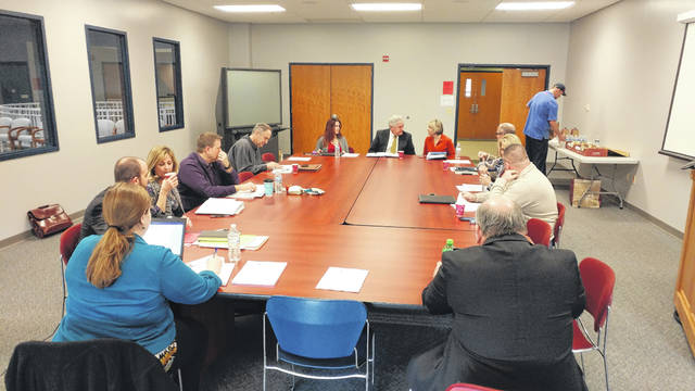 Rio Grande Community College Board of Trustees discuss new levy communication strategies.