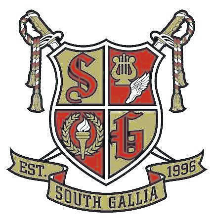 The South Gallia Rebels have a new crest to display proudly, as seen here. It is the choice of students and staff, and is the result of the collaboration between two students.