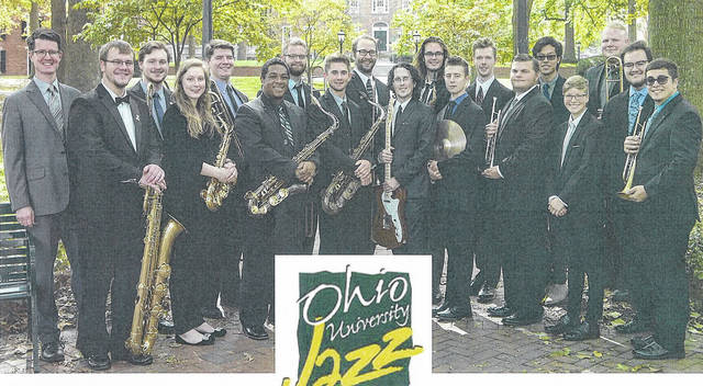 The Ohio University Jazz Ensemble directed by Matt James will present an evening of Jazz, Swing, Big Band, and Dance Music from 7-10 p.m. on Friday, Feb. 23 at Riverbend Arts Council, 290 N. 2nd Avenue, Middleport, Ohio. Tickets are Adult $20 and Student $10 and include refreshments. Advance tickets can be purchased at King Hardware, Middleport, Ohio or Clark's Jewelry Store, Pomeroy, Ohio. Call 740-992-2675 for more info.