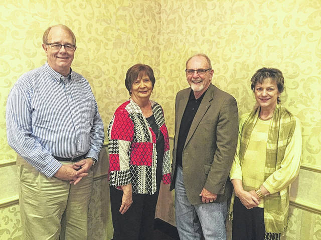 Officers for 2018 are pictured with AAA7 Executive Director Pamela K. Matura (at far right) including, left to right, Gary Fenderbosch of Gallia County serving as secretary/treasurer, Patricia Pletcher of Jackson County serving as vice president, and Rick Marriott of Ross County serving as president.