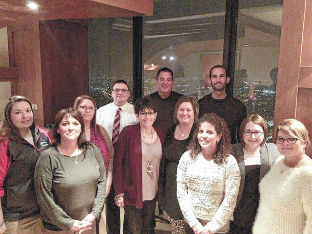 Local teachers and administrators traveled to Chicago last month to present on how they have implemented the AP curriculum in their classrooms.