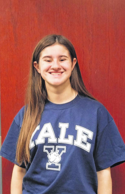 Sharla Moody is the first student from River Valley High School to attend Yale University.