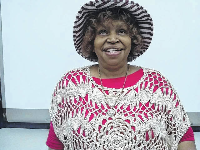 Nellie Ruby Taylor, pictured, recently spoke at a meeting of the Point Pleasant Writer's Guild.