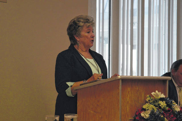 Ohio Gallia Democratic Party Chairperson Carole Roush announces she will be stepping back from her position.