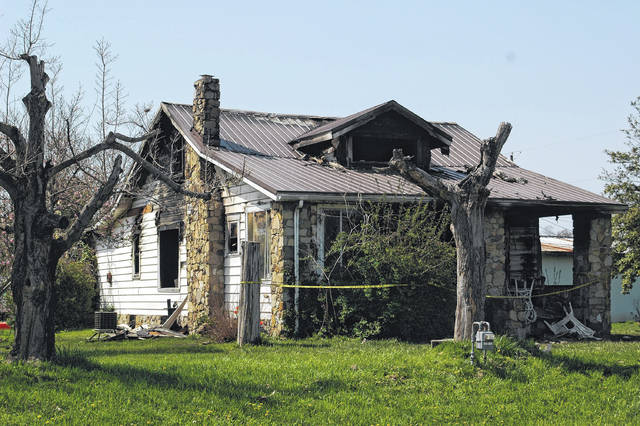 The house, located north of Gallipolis on Ohio 7 experienced fire damage Tuesday evening. The incident is still under investigation.