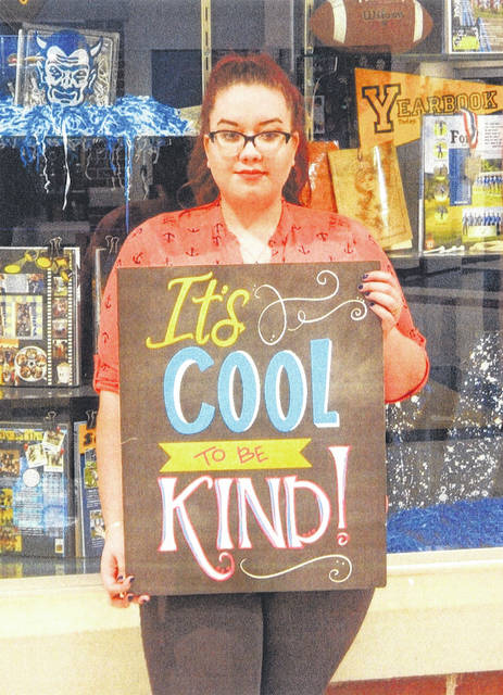 Lauren Casey was chosen for this week's Cool to be Kind program at Gallia Academy. According to Mrs. Bailey, she is recognized for her willingness to help others and encouraging attitude.