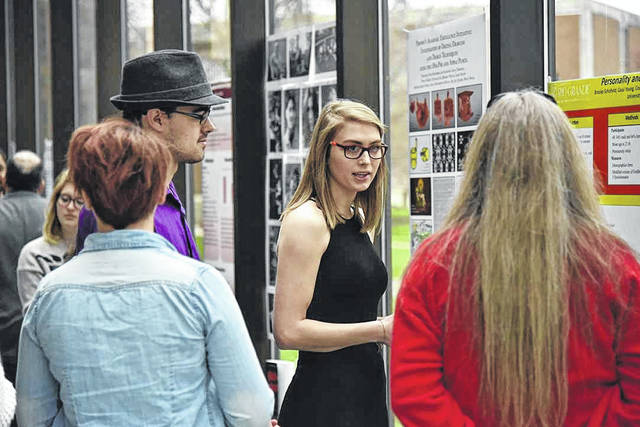 The University of Rio Grande and Rio Grande Community College hosted the fourth annual RISE event, a research and scholarship exhibition day for undergraduates to present projects they have worked on throughout the academic year.