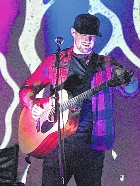 Devin Henry, pictured, packed the Colony Club Saturday night to help raise funds for suicide prevention and awareness.