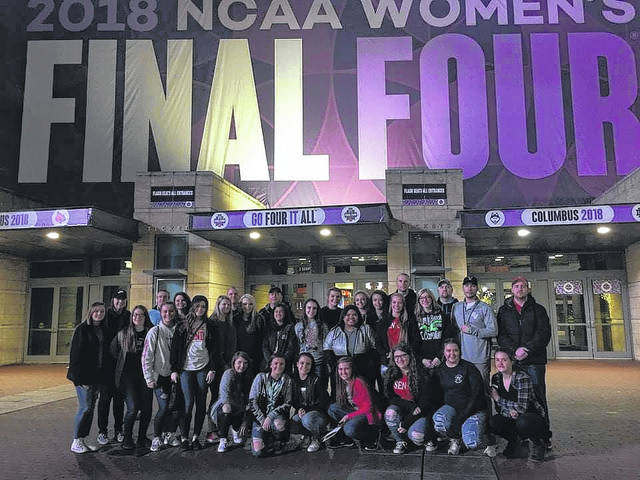River Valley and South Gallia women's basketball teams made the trip to the NCAA Women's Final Four in Columbus this weekend.