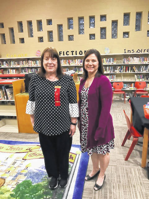 The April meeting of DKG toured Rio Grande Elementary.