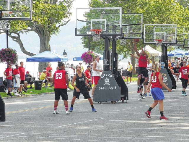The Hoop Project, alongside the River Recreation Festival, has served as one of the largest events in Gallipolis City Park.