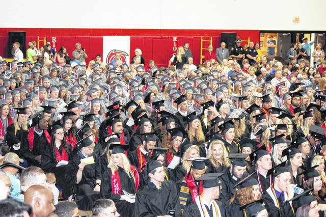 Four hundred and seven students received their degrees Saturday during the Commencement Ceremony at the University of Rio Grande and Rio Grande Community College.