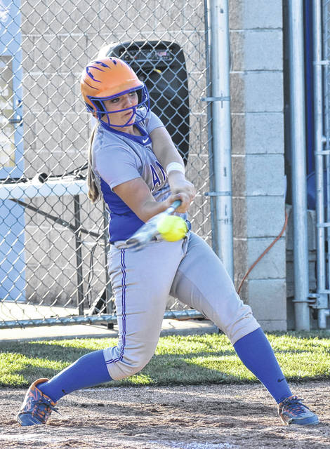 The late Ryelee Sipple, pictured, loved the game of softball. Her friends and family are holding a softball tournament in her memory Aug. 11 doing what she loved.