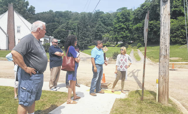Representatives from the Ohio EPA and the Historic Preservation Office of the Ohio History Connection met with Middleport Officials on Friday to discuss the brick streets impacted by Phase I of the wastewater project in the village.