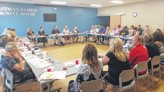 Gallia Citizens for Prevention and Recovery typically meets the second Monday of the month at noon in the Holzer Medical Center's French 500 Room. The newly created youth branch of the coalition will meet at Aug. 28 at 6 p.m. in the Switzer Room of Bossard Library.