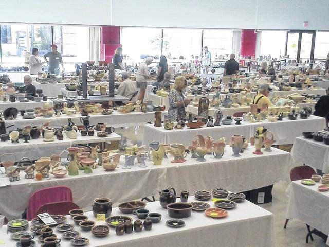 The 25th annual Hull Pottery Association show and sale will take place this week in Crooksville.