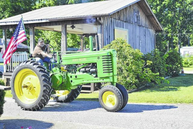 The tractor show is not a contest, but rather a way for West Virginia's rural heritage to be celebrated.