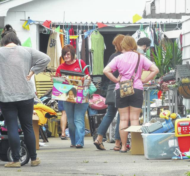 The Gallipolis City Park Community Yard Sale will be held Aug. 18 in rain or shine.
