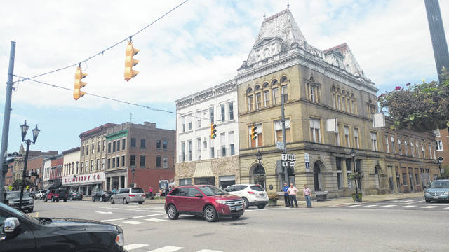 The old Ohio Valley Bank building was designed by famed architect Frank Packard.