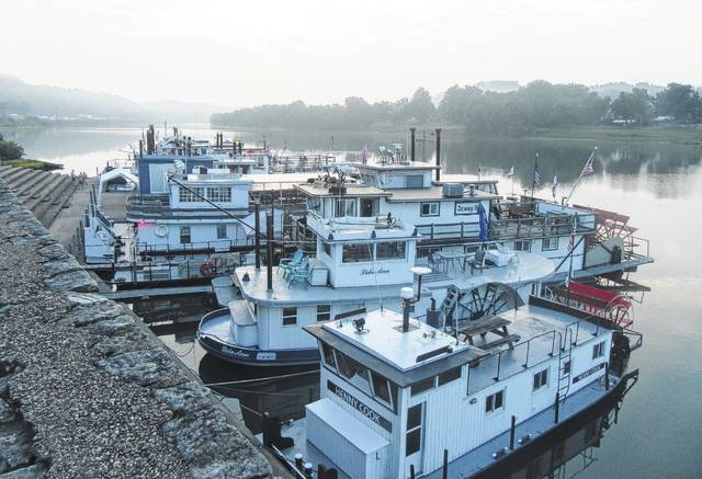 Boats will once again line the Pomeroy river front for the Sternwheel Regatta