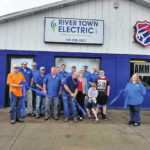 River Town Electric ribbon cutting