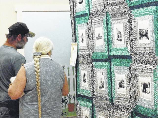 Festival goers will be able to vote on which quilts they like the best in each of the CEOS Quilt Show's categories.