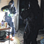 Suspected meth lab discovered